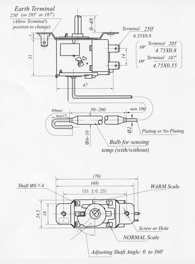 d1 capillary pressure thermostats capillary thermostat wiring diagram at bakdesigns.co